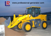 3200kg Capacity Heavy Construction Machinery , Front End Wheel Loader With 92kw Deutz Engine