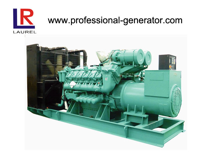Three Phase 1500 Rpm Open Diesel Generator With Googol Engine