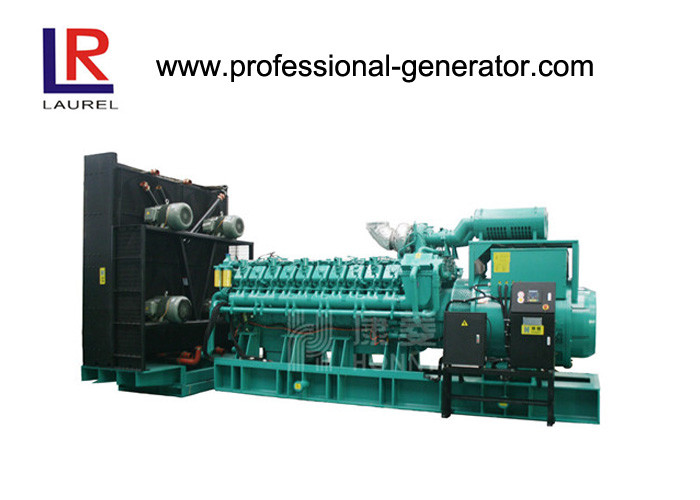 Water Cool Diesel Power Generator Set 2500kva Diesel Generators For Home Industry Project