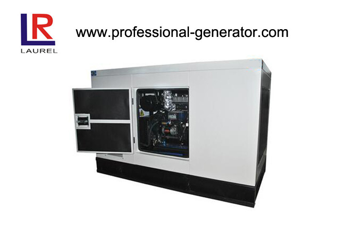 120kw Soundproof Diesel Container Genset 440 / 220v With Deepsea Controller