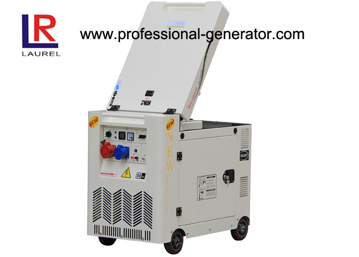 Flip Diesel Fuel Generator 8kVA Portable Soundproof  Single Phase