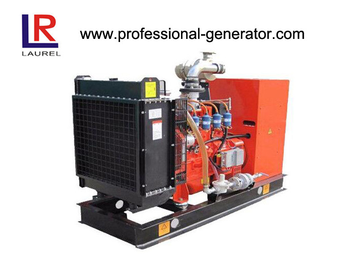4 Stroke 30kw Natural Gas Generators With Leroy Somer Alternator