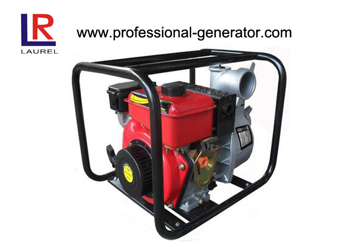 Portable Gasoline Water Pump 4 Inch for Farming with Forced Air Cooling 4 Stroke