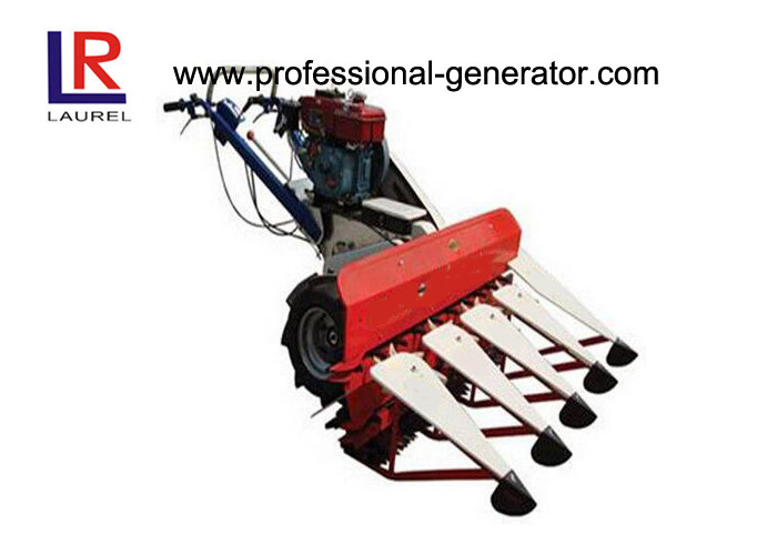 Agricultural Automatic Combine Harvester Machine , Diesel Rice Harvesting Equipment