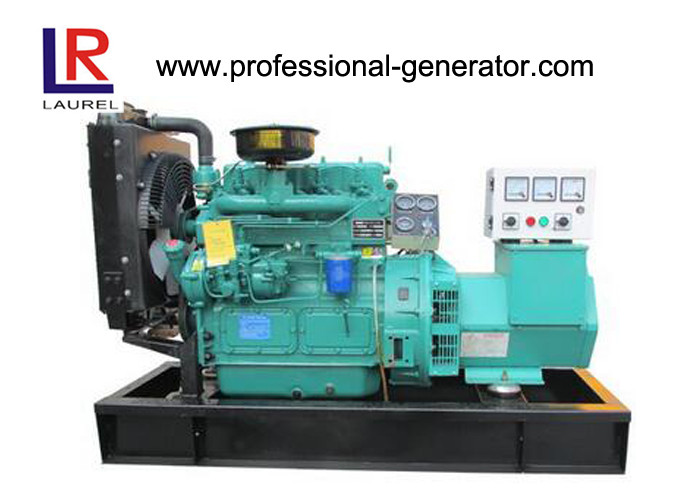 15kVA Three Phase Open Diesel Generator 50HZ / 60HZ with DC 24V Start CE ISO9001