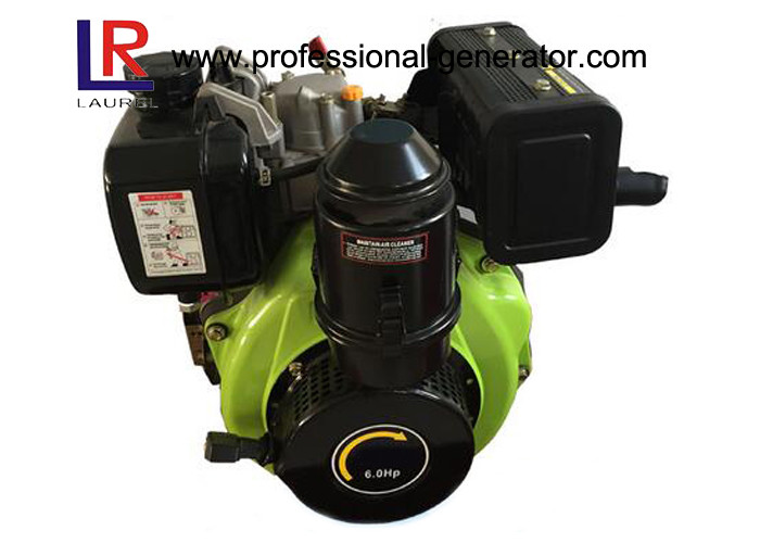 7HP 178F Air Cooled Diesel Engine with Direct Injection 296cc Clockwise / Counterclockwise