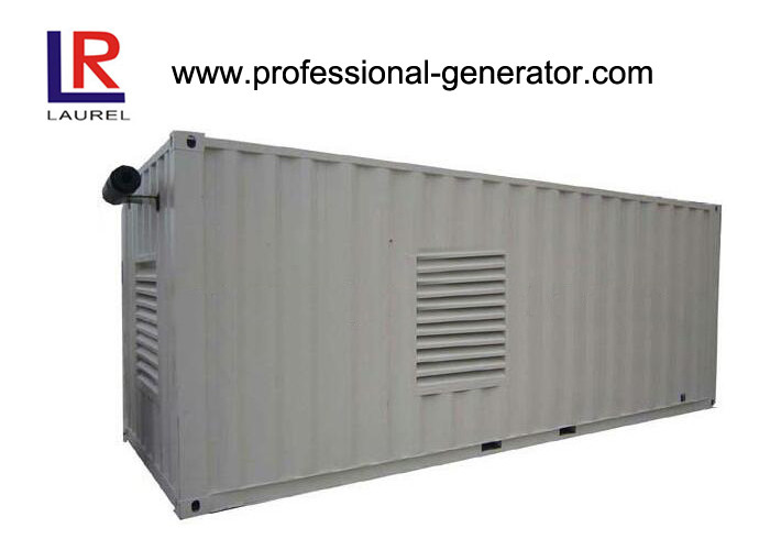 German Technology 1.6MW Containerized Diesel Generator Set with Digital LCD Panel