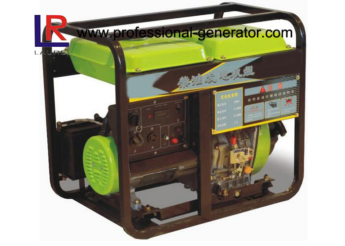 Soundproof 5kVA Diesel Generator with Air Cooled 4 - Stroke Direct Injection Engine