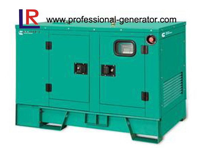 Soundproof Canopy 25kVA Silent Diesel Generator Set with Cummins Engine 4B3.9 - G2