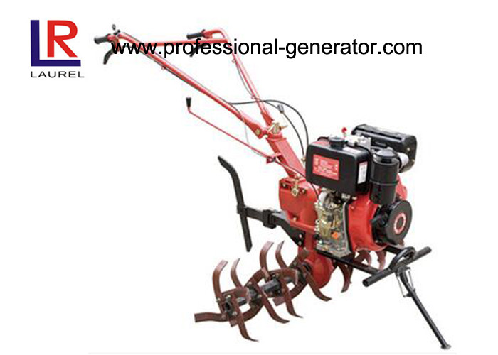 Handy 5KW 7HP Diesel Engine Power Tractor Tillers and Cultivators with Reamer for Ridging