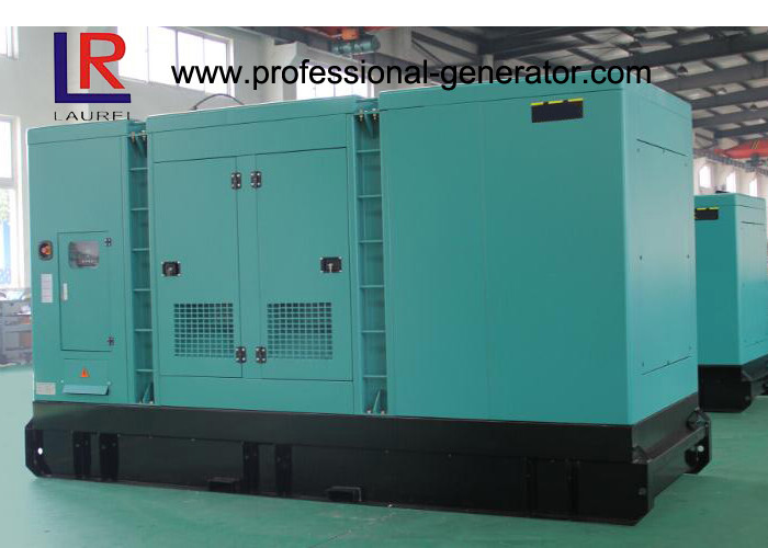 Cummins Silent Diesel Generator Set 330KW 412.5KVA with DC24V Electrical Starting