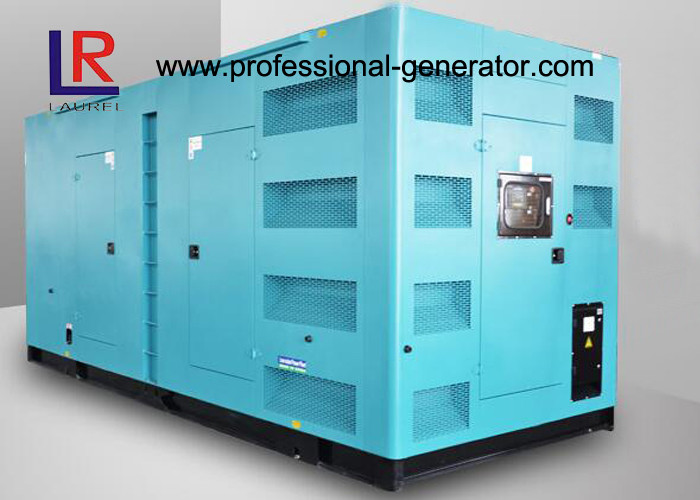 CE ISO 680kw 850kVA Silent Diesel Power Generator with Cummins Engine
