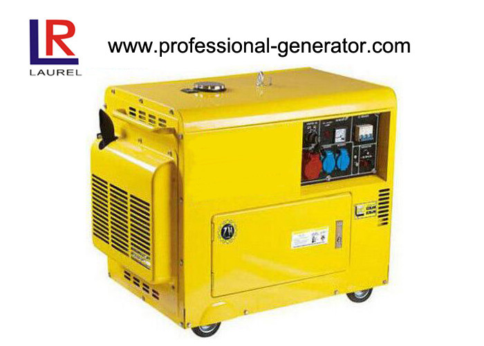 Durable Power Diesel Driven Generator Silent Centrifugal Weight System 220V 3KW