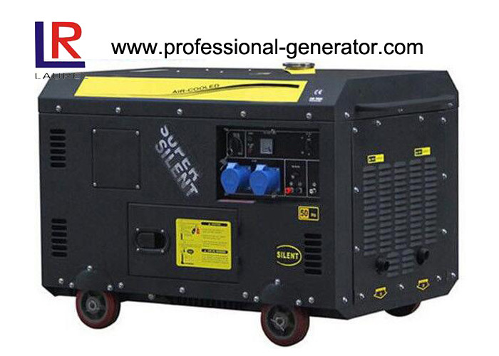 Air-cooled 9 kW Super Soundproof Diesel Generator for Home Use