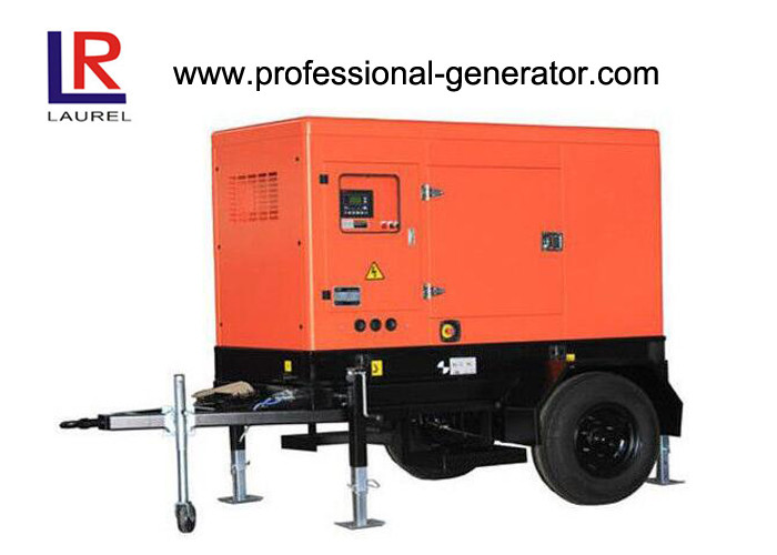 Outdoor Mobility Work Trailer Mobile Power Generator Station Adjustable Height