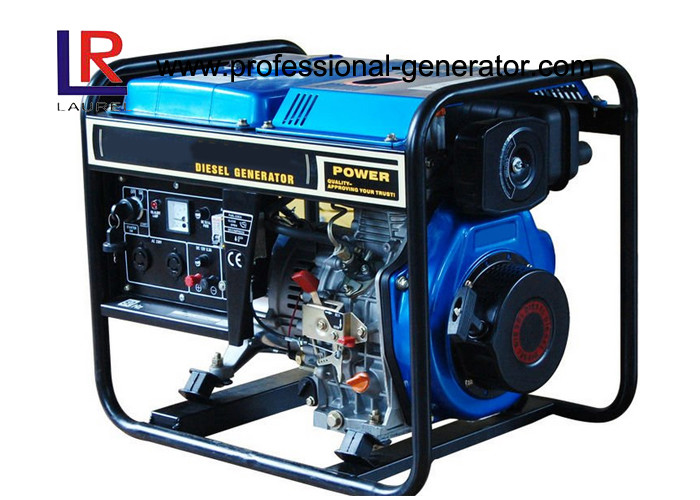 50Hz AC Single Phase 2kVA Diesel Generator with Self - excited Constant Voltage