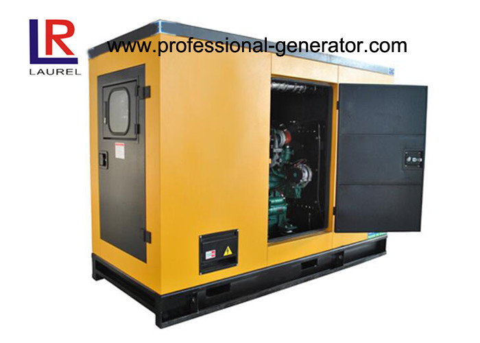 Forced Water Cooling 30kw Silent Diesel Generator Set with Stamford Alternator