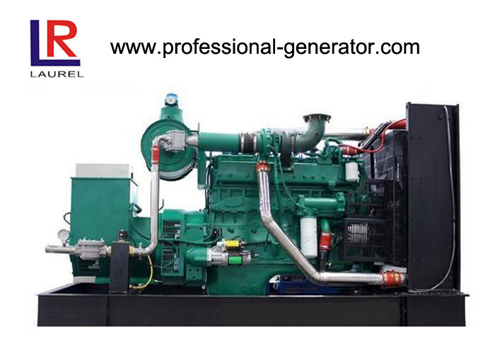 50Hz AC Three Phase Gas Generator 120kw 150kVA With Water - Cooled Electric Start