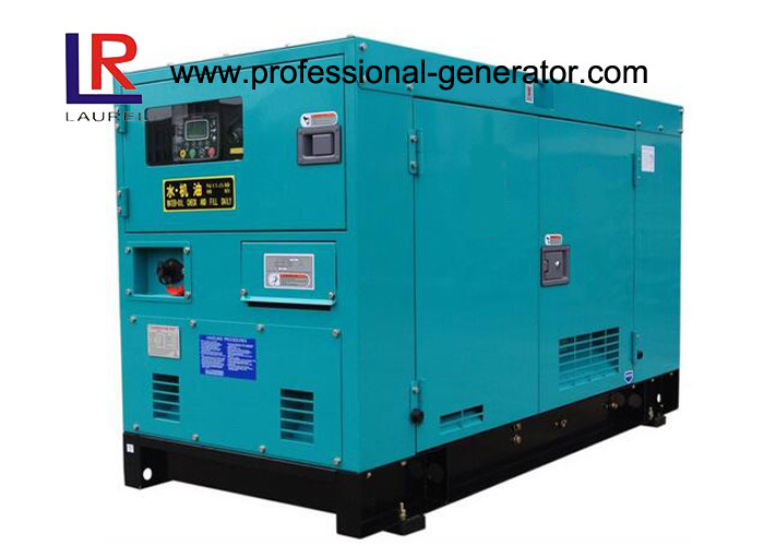 3 Cylinder 12.5KVA 10kw Silent Diesel Generator Set Super Silent with China Quanchai Engine