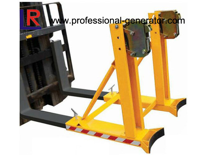 CE Warehouse Material Handling Equipment Single Drum Grab Forklift Attachment 360 * 2 Capacity