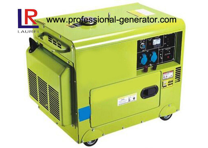 50Hz / 60Hz Electric Star 230V Silent Diesel Generator By Air - Cooled